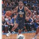 2017 Hoops Basketball Card #87 Alec Burks