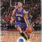 2017 Hoops Basketball Card #110 Nick Young