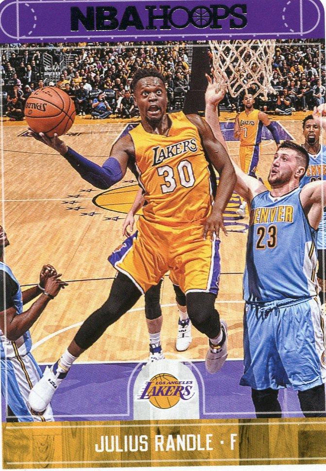 2017 Hoops Basketball Card #112 Julius Randle