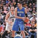 2017 Hoops Basketball Card #117 Nikola Vucevic