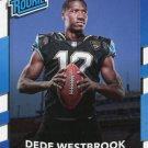 2017 Donruss Football Card #337 Dede Westbrook