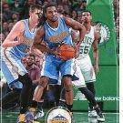 2017 Hoops Basketball Card #142 Kenneth Faried