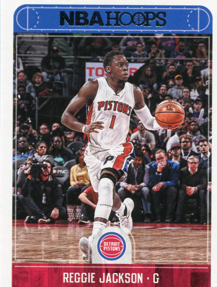 2017 Hoops Basketball Card #167 Reggie Jackson