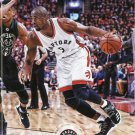 2017 Hoops Basketball Card #178 Serge Ibaka