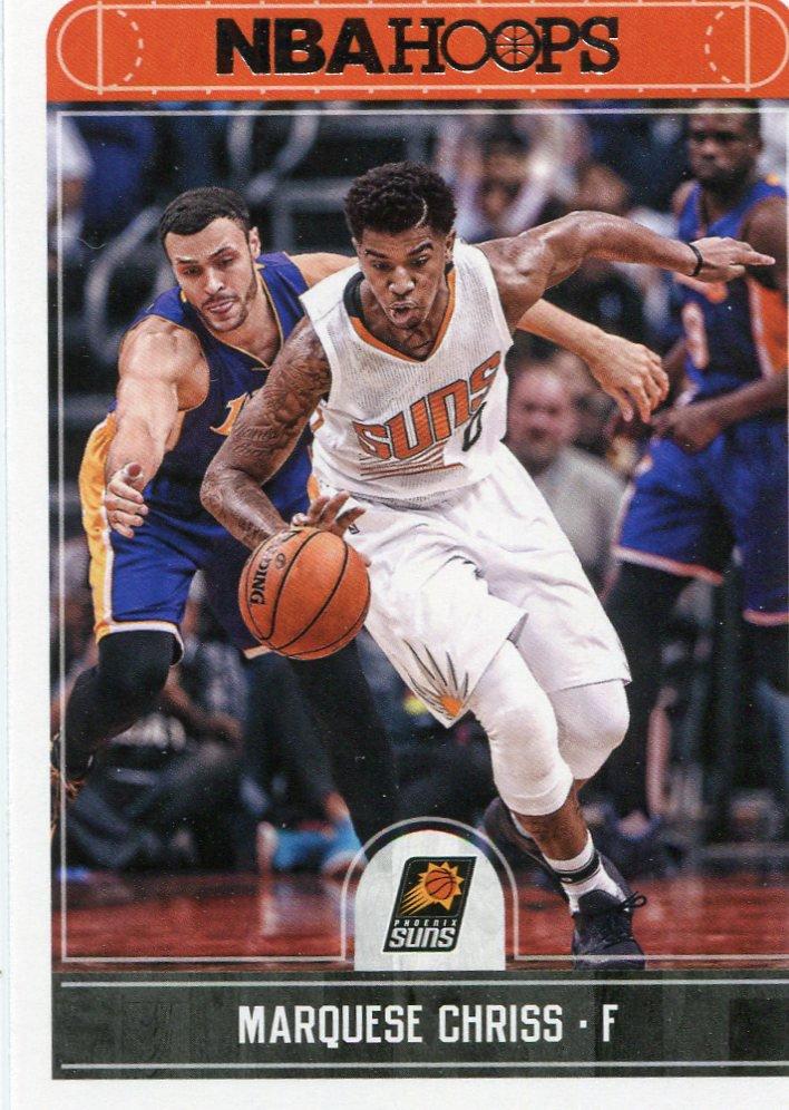 2017 Hoops Basketball Card #202 Marquese Chriss