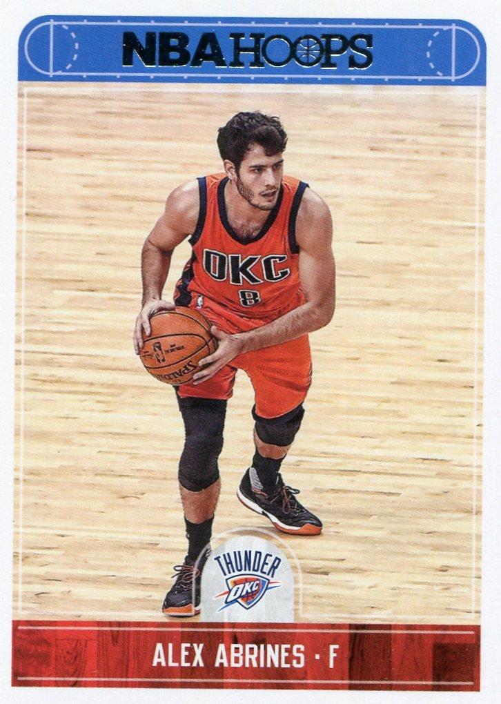 2017 Hoops Basketball Card #214 Alex Barnes