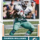 2017 Score Football Card #86 Damien Williams
