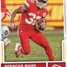 2017 Score Football Card #122 Spencer Ware