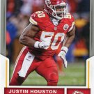 2017 Score Football Card #288 Justin Houston