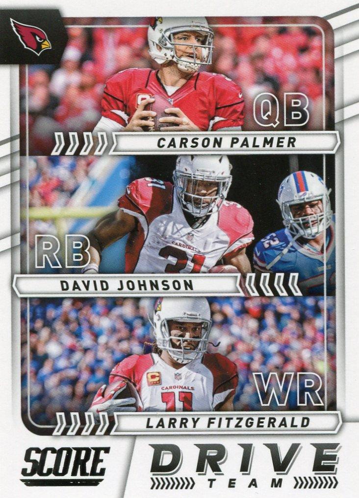 2017 Score Football Card Drive Team #5 Arizona Cardinals