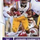 2017 Score Football Card #347 Leonard Fournette