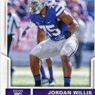 2017 Score Football Card #364 Jordan Willis