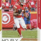 2017 Score Football Card No Fly Zone #4 Marcus Peters