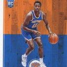 2017 Hoops Basketball Card #258 Frank Ntilikina