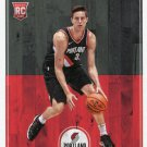 2017 Hoops Basketball Card #260 Zach Collins