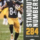 2017 Score Football Card Standout Numbers #10 Antonio Brown