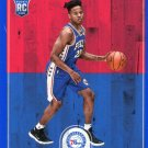 2017 Hoops Basketball Card Blue Parallel #251 Markelle Fultz