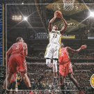 2017 Hoops Basketball Card Lights Camera Action #22 Myles Turner