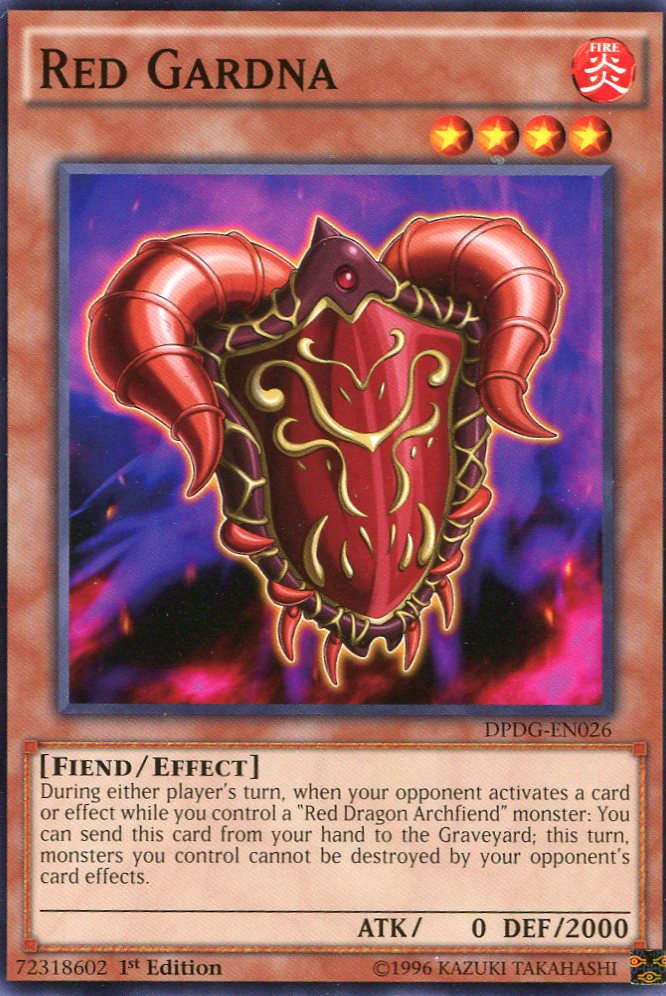 Yugioh Dimensional Guardians, DPDG-EN026 Red Gardna