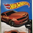 2017 Hot Wheels #246 2013 Hot Wheels Chevy Camaro Special Edition