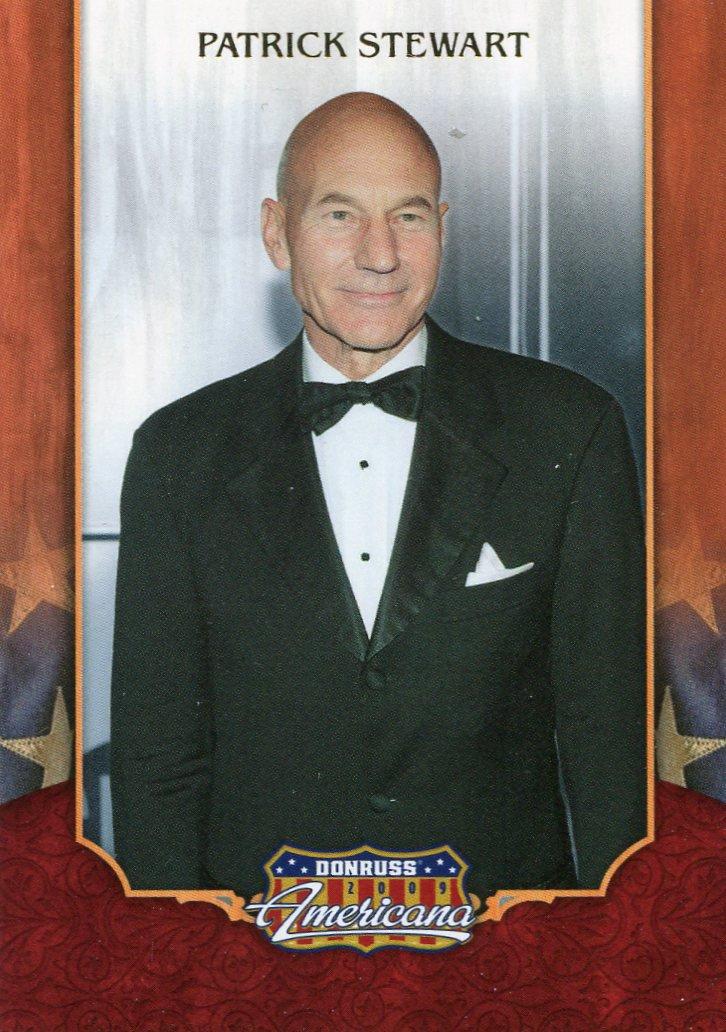 2009 Donruss Americana Card #2 Patrick Stewart