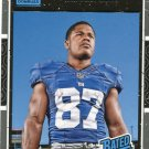 2016 Donruss Football Card #394 Sterling Shepard