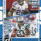 2016 Donruss Football Card League Leaders #3 Adrian Peterson / Chris Ivory