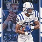 2016 Donruss Football Card Peyton Manning Top Targets #5 Edgerinn James