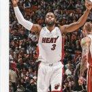2015 Hoops Basketball Card #209 Dwyane Wade