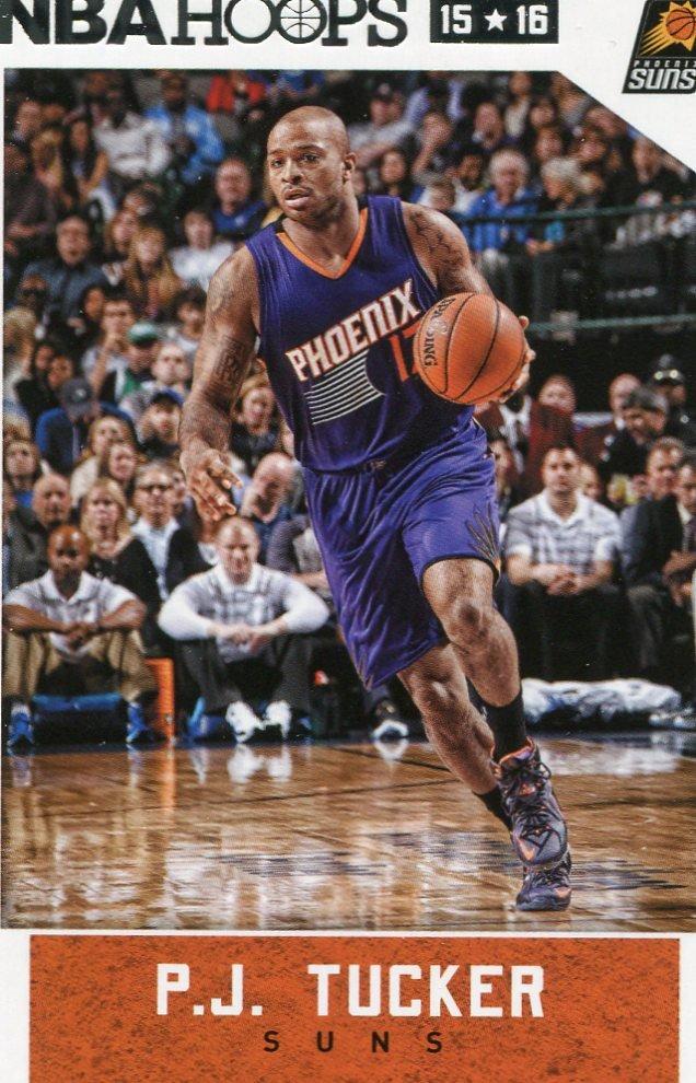 2015 Hoops Basketball Card #256 P J Tucker
