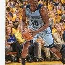 2015 Hoops Basketball Card #260 Zach Randolph