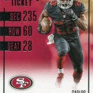 2016 Panini Contenders Football Card #20 Carlos Hyde