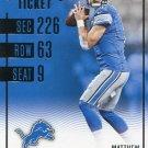 2016 Panini Contenders Football Card #30 Matthew Stafford