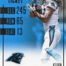 2016 Panini Contenders Football Card #45 Kelvin Benjamin