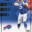 2016 Panini Contenders Football Card #52 Tyrod Taylor