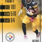2016 Panini Contenders Football Card #87 Antonio Brown