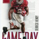 2016 Panini Contenders Football Card Draft Picks Game Day #8 Derrick Henry