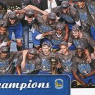 2015 Hoops Basketball Card Champions #84 Golden State Warriors
