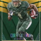 2016 Panini Contenders Football Card Draft Picks School Colors #11 Corey Coleman