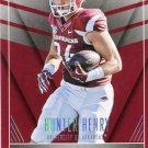 2016 Panini Contenders Football Card Draft Picks School Colors #13 Hunter Henry