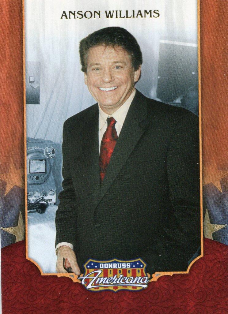 2009 Donruss Americana Card #72 Anson Williams