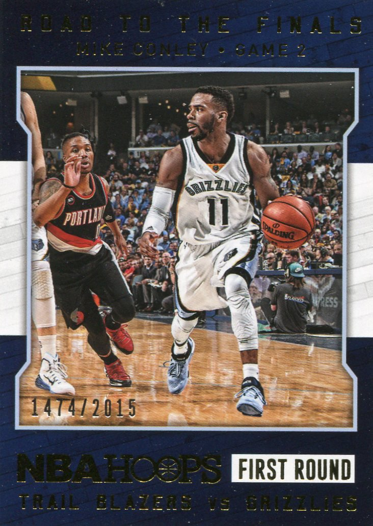 2015 Hoops Basketball Card Road to the Finals #15 Mike Conley