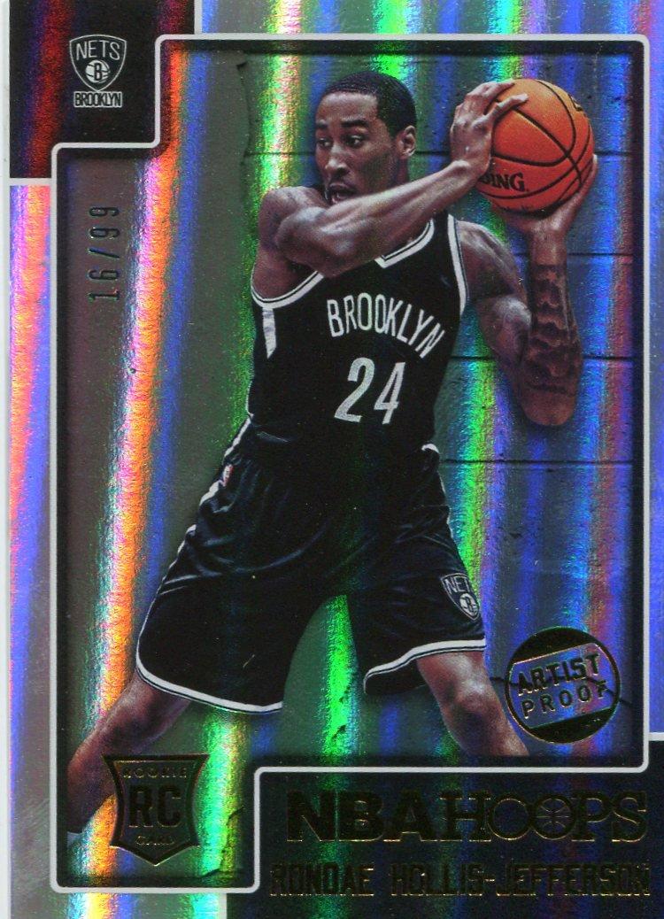 2015 Hoops Basketball Card Silver #299 Rondae Hollis-Jefferson