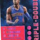 2015 Hoops Basketball Card Triple Double #33 Reggie Jackson