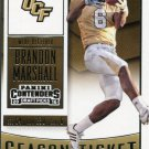 2016 Panini Contenders Football Card Draft Picks Season Ticket #14 Brandon Marshall