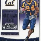 2016 Panini Contenders Football Card Draft Picks Season Ticket #71 Marshawn Lynch