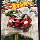 2017 Hot Wheels Holiday Hot Rods #4 Diesel Duty
