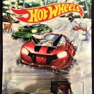 2017 Hot Wheels Holiday Hot Rods #5 Rennen Rig