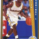 1992 Fleer Basketball Card #341 Keith Jennings