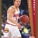 1992 Fleer Basketball Card #344 Scott Brooks